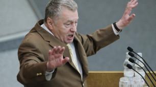 Эсеры предложили запретить Жириновскому выступать в Госдуме