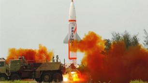 Индия успешно завершила испытания баллистической ракеты