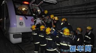 ФОТО: 260 человек пострадали при столкновении поездов в Шанхае