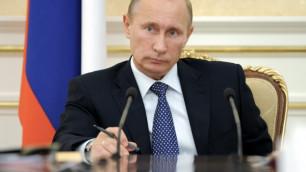Путина выдвинут в президенты России до выборов в думу
