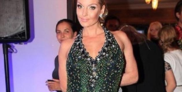 Волочкова надела суперпрозрачное платье