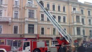 """Пожар в офисе агентства """"Интерфакс"""" потушен"""