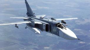 Бомбардировщик Су-24 потерпел аварию в Амурской области