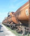 В Петропавловске из цистерны грузового поезда произошла утечка соляной кислоты