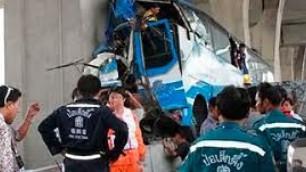 В Таиланде автобус с 38 россиянами попал в аварию