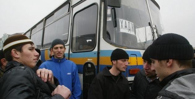 Под Меккой перевернулся автобус с паломниками из Дагестана