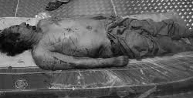 В Интернете показали видео с похорон Каддафи
