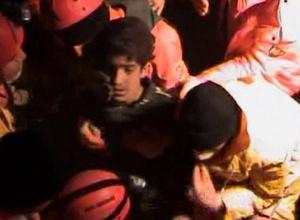 В Турции спасли 13-летнего подростка спустя 108 часов после землетрясения