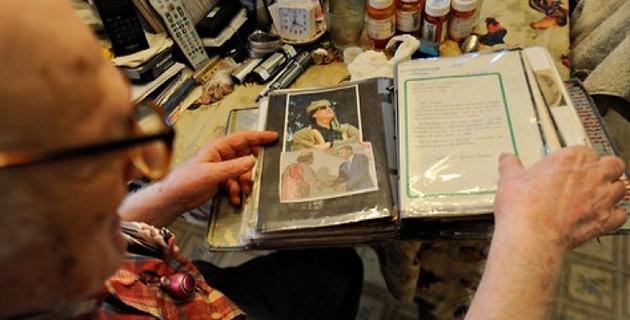 Каддафи 40 лет вел дружбу с простым флористом из США