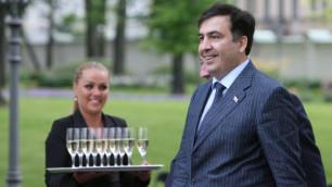 Саакашвили посетил свадьбу дочери Михалкова