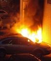 Три иномарки сгорели за ночь в Москве
