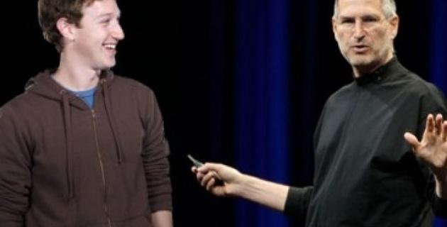 Стив Джобс консультировал Цукерберга по стратегии Facebook
