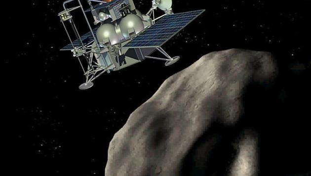 """Межпланетная станция """"Фобос-Грунт"""" не смогла выйти на нужную орбиту"""