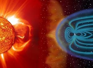 На Землю обрушилась магнитная буря