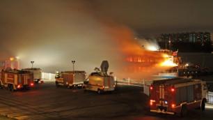 МЧС назвало причины пожара на теплоходе в Москве