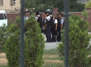 """Здание дорожной полиции """"заминировали"""" в Таразе"""