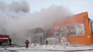 """Пожар в гипермаркете """"Мега"""" под Пензой ликвидирован"""