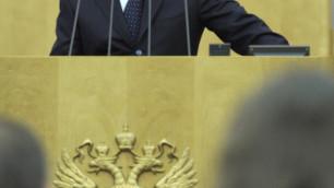 Депутаты проигнорировали появление Путина в Госдуме