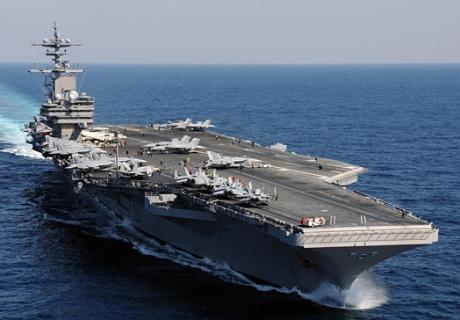 "Атомный авианосец ""Джордж Буш"" подошел к берегам Сирии"