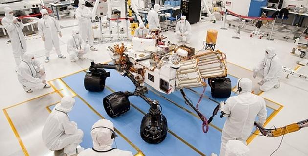 NASA отправит аппарат для поиска марсиан