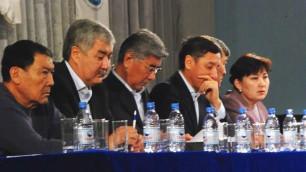 Оппозиция определила кандидатов в новый Мажилис