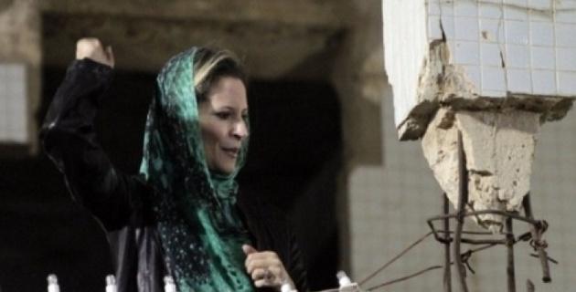 Дочь Каддафи призвала ливийцев к свержению новых властей