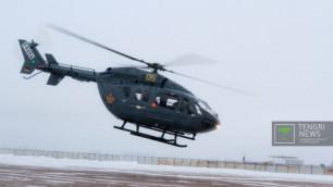 ФОТО: В Казахстане протестировали первый отечественный вертолет