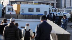 ФОТО: В МВД признались в вводе колонны военных в Москву