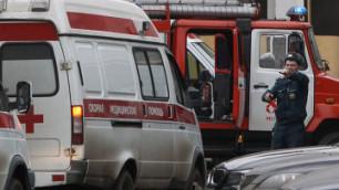 При пожаре в ангаре в Домодедово погиб один человек