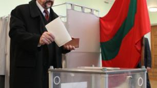 Президент Приднестровья попросил признать выборы недействительными