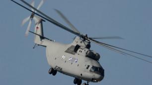 Вертолет Ми-26 совершил жесткую посадку в Ханты-Мансийском округе
