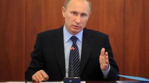 Путина официально зарегистрировали кандидатом в президенты