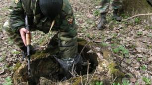 Тайник с бомбой и планом отделения полиции найден в Дагестане