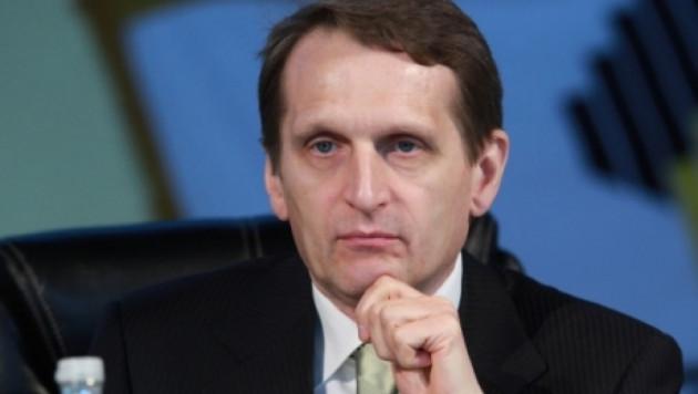 Председателем Госдумы РФ избран Сергей Нарышкин