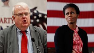Конгрессмен извинился перед Мишель Обамой за слова о ее фигуре