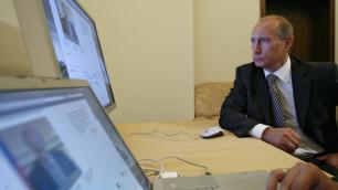 Путин решил узнать мнение интернет-пользователей о выборах-2012