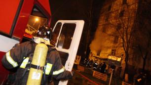 При пожаре в отделе приставов в Москве погиб человек