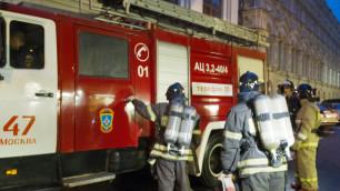 Потушен пожар в гаражном комплексе на юго-западе Москвы