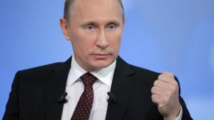 Россияне признали Путина политиком 2011 года