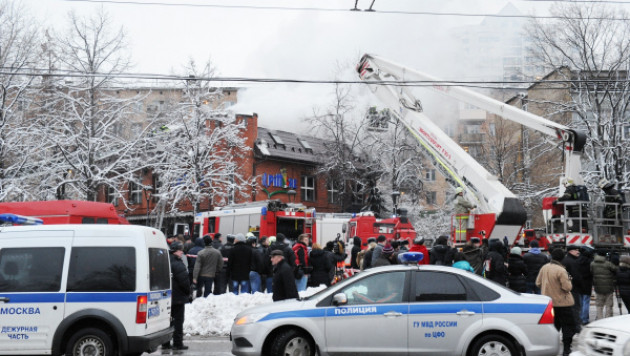 Число жертв взрыва в московском ресторане выросло до трех