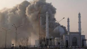 В Астане загорелась крупнейшая в Центральной Азии мечеть