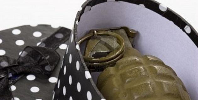Задержан подкинувший предпринимательнице подарок с гранатой мужчина
