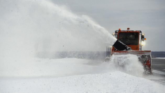 """В Италии выпал """"химический"""" снег из России"""