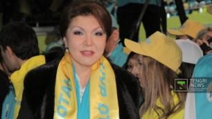Дочь Назарбаева возглавила один из комитетов парламента Казахстана