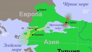Три судна столкнулись у берегов Стамбула