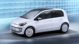 Volkswagen показал первые фото пятидверного Up!