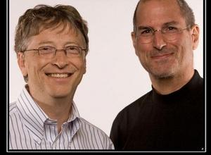 Стив Джобс перед смертью читал письмо Билла Гейтса