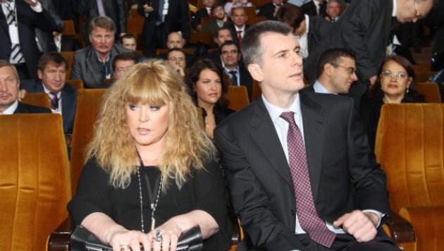 Пугачева и Ярмольник стали доверенными лицами Прохорова