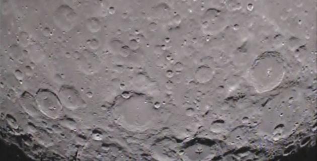 Обнародована видеосъемка обратной стороны Луны