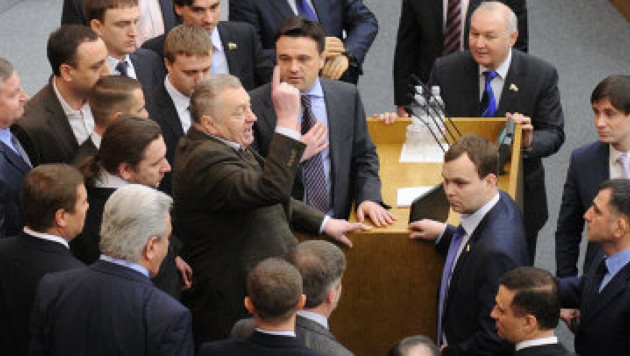 Жириновский пожаловался прокуратуре на освещение СМИ конфликта в Госдуме
